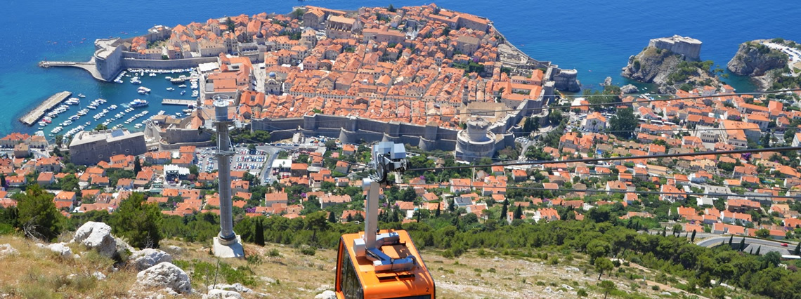 Island of Korcula and Dubrovnik